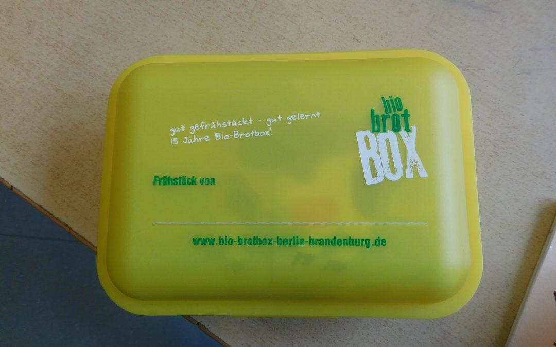 Bio-Brotboxen auch in Schulzendorf