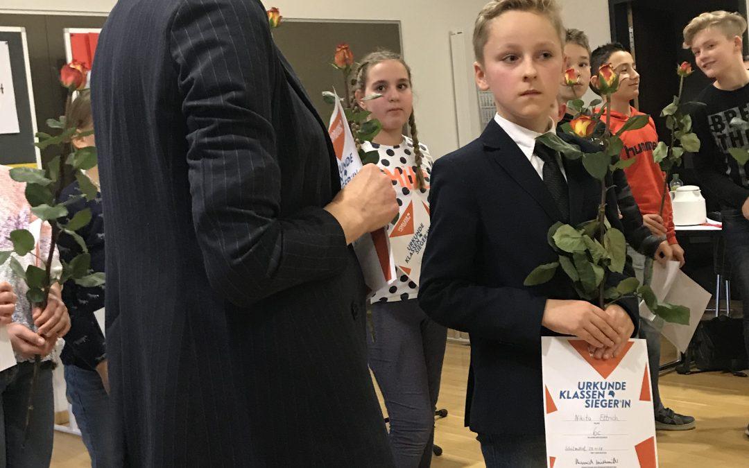 Schulvorlesewettbewerb 2018/19 hatte Jubiläum